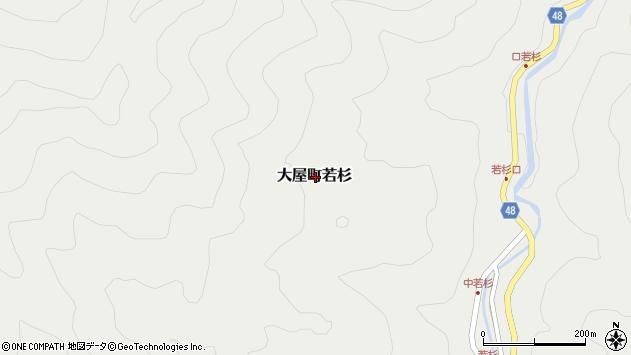 〒667-0323 兵庫県養父市大屋町若杉の地図