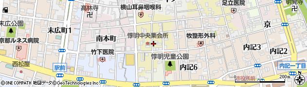 京都府福知山市北栄町周辺の地図