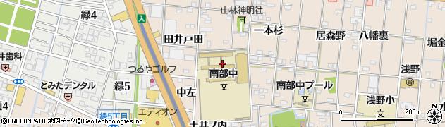 愛知県一宮市浅野(神明前)周辺の地図