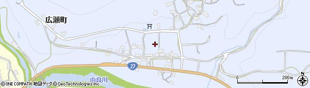 京都府綾部市広瀬町(宮ノ前)周辺の地図