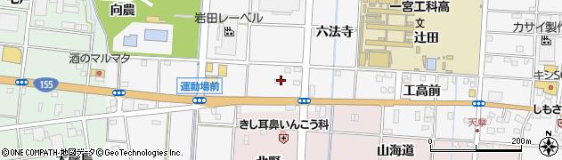 愛知県一宮市千秋町佐野(清水)周辺の地図