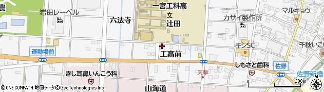 愛知県一宮市千秋町佐野(橋ノ実)周辺の地図