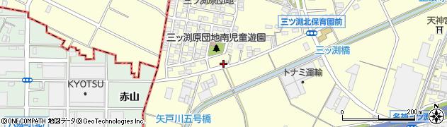 江戸銀周辺の地図