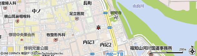 京都府福知山市京周辺の地図
