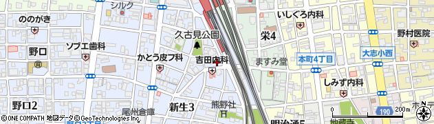 稲荷天神周辺の地図