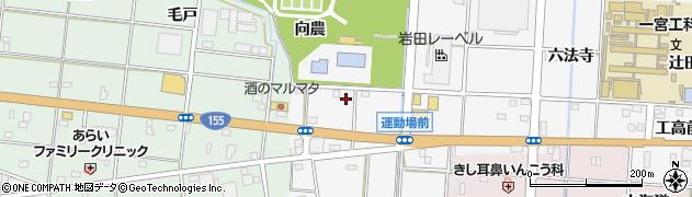 愛知県一宮市千秋町佐野(運動場前)周辺の地図