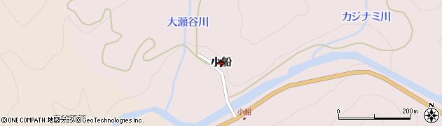 鳥取県若桜町(八頭郡)小船周辺の地図