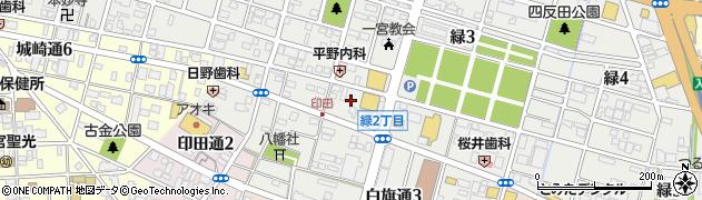 麺粥家・大黒天周辺の地図