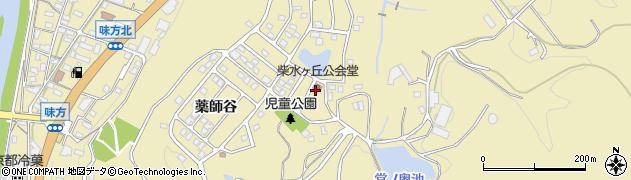 京都府綾部市味方町(奥ノ谷)周辺の地図