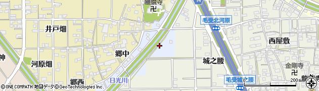 愛知県一宮市寺前町周辺の地図