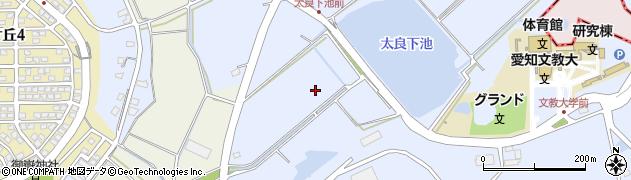 愛知県小牧市大草太良下周辺の地図
