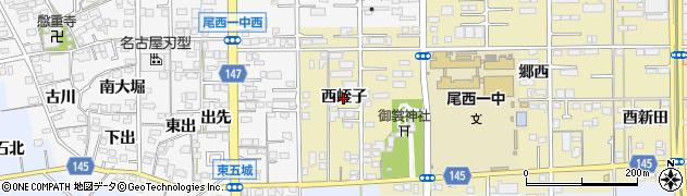 愛知県一宮市三条(西蛭子)周辺の地図