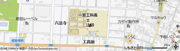 愛知県一宮市千秋町佐野(辻田)周辺の地図