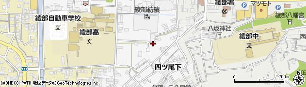 京都府綾部市岡町(堺)周辺の地図