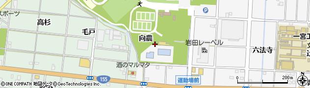 愛知県一宮市千秋町佐野(向農)周辺の地図