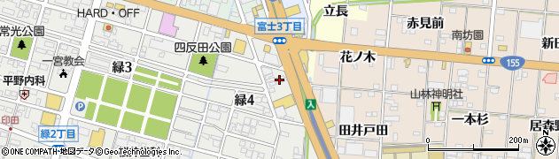ごまめ家周辺の地図