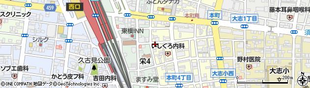 洋風食堂GaKu周辺の地図