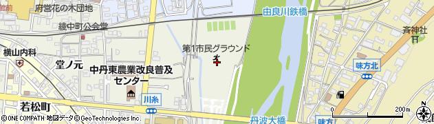 京都府綾部市川糸町(北下市場)周辺の地図