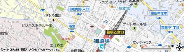 鶏小屋周辺の地図