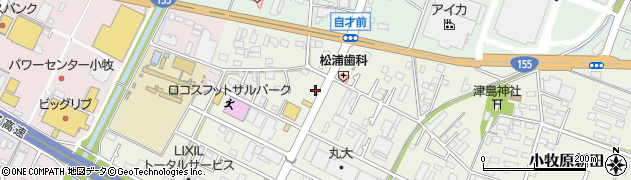 十三家周辺の地図