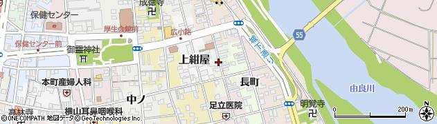 京都府福知山市下新周辺の地図