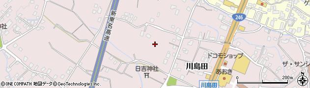 静岡県御殿場市川島田周辺の地図