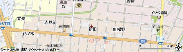 愛知県一宮市浅野(新田)周辺の地図