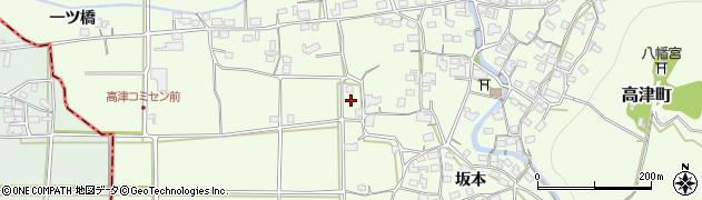 京都府綾部市高津町(堂ノ本)周辺の地図