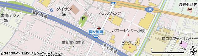 ほっかほっか亭 小牧インター東店周辺の地図