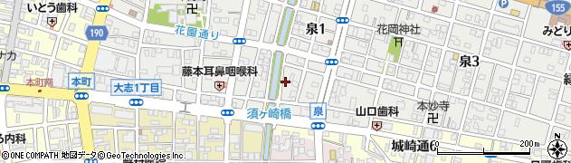 グラース(GRASSE)周辺の地図