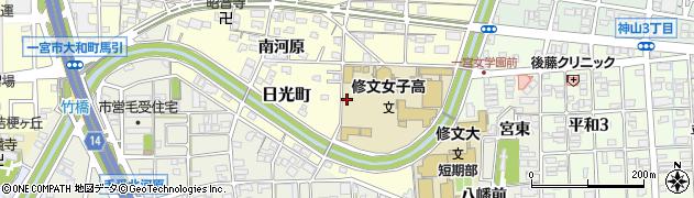 愛知県一宮市大和町馬引(辰已河原)周辺の地図