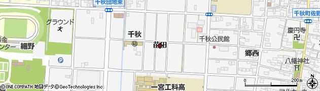 愛知県一宮市千秋町佐野(苗田)周辺の地図