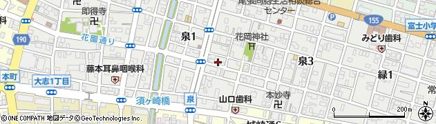 舞子周辺の地図