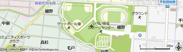 愛知県一宮市千秋町浮野(東望戸)周辺の地図