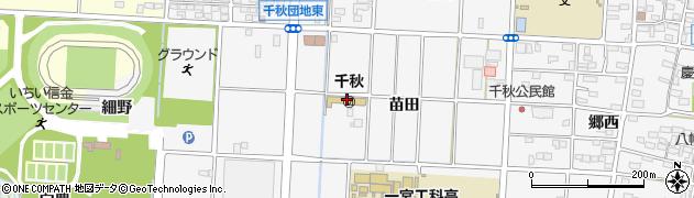 愛知県一宮市千秋町佐野(加村)周辺の地図