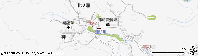 岐阜県多治見市諏訪町周辺の地図
