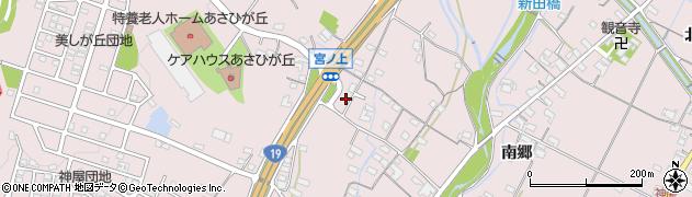 愛知県春日井市神屋町周辺の地図
