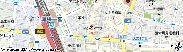 松閣周辺の地図