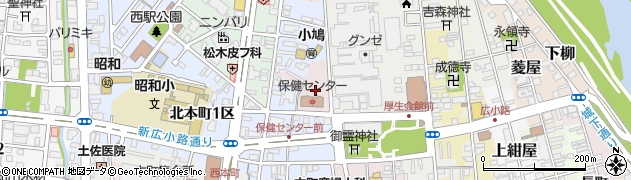京都府福知山市天田周辺の地図