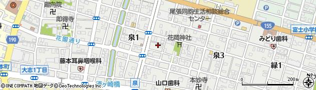 テリーヌ・フレンチレストラン周辺の地図