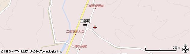 伝燈寺周辺の地図