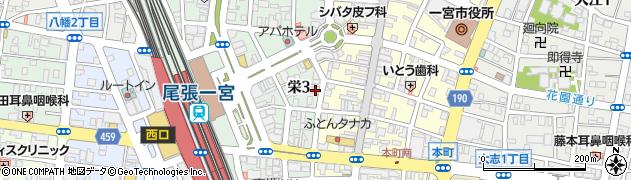 栗坊周辺の地図