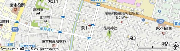 越前周辺の地図
