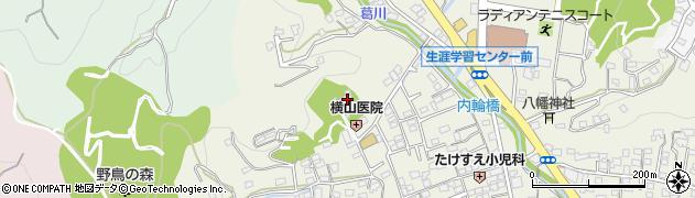知足寺周辺の地図