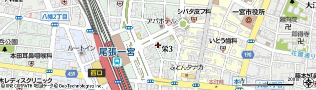 花鳥風月周辺の地図
