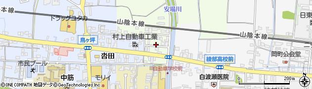 京都府綾部市延町(鳥居)周辺の地図