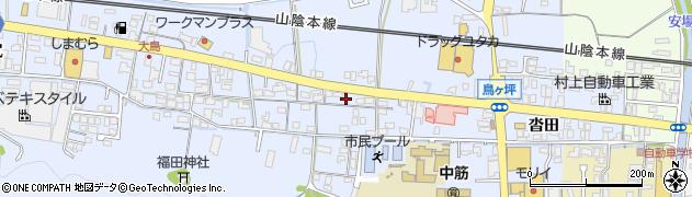 京都府綾部市大島町(前田)周辺の地図