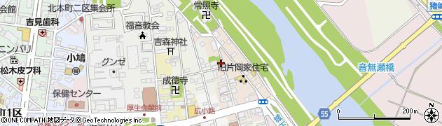 京都府福知山市菱屋周辺の地図