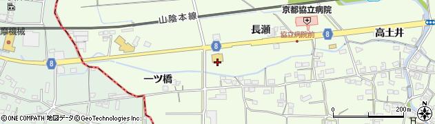 京都府綾部市高津町(宇州)周辺の地図