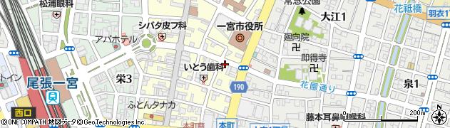 リザウンド周辺の地図